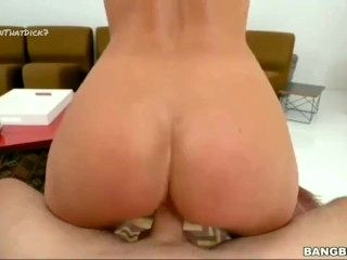 riding & doggystyle compilation candice dare twerkin on that dick 2017 ANAL