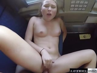 Public Sex on Trains guy's lucky travel companion (2)