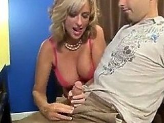 Jodie West Seduces Lucky Guy