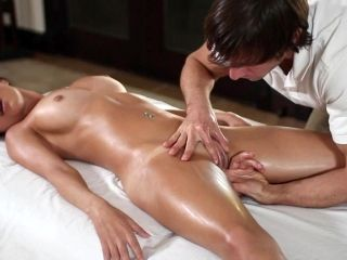 Hot sex and nice massage for alluring Dillion Harper