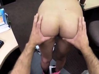 Amateur first creampie College Student Banged in my pawn sho