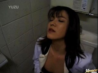 Wild Masturbating Session in the Restroom by a Sexy Japanese Girl