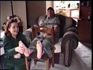 Old Male Tickle Torture In Nylons