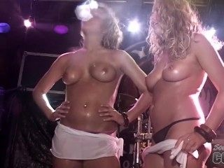 Hot Contest At Rick's Bar Key West Florida Nude Girls Stripping For Cash