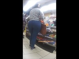 African Teen Monster Candid Phat Booty