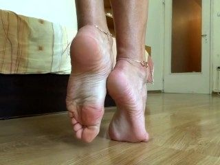 Teasing You With Perfect Soles Close Up Pt.2