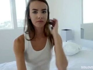 Charity Crawford  Incest  Bro Sis  SisLovesMe  Spying On Stepsis (Pt1).mp4