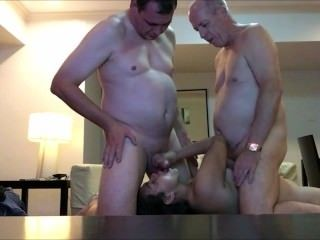 Cumming on Wife's Face With Another Man