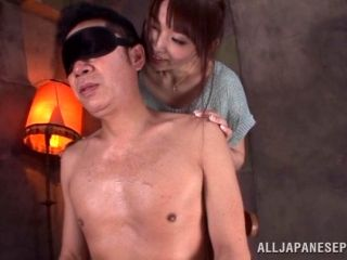 Asian Milf With Nice Ass Licks Feet And Gives A Hot Blow Job