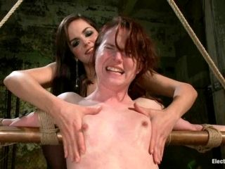 AnnaBelle Lee gets wired and humiliated by Bobbi Starr