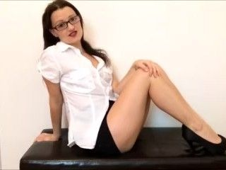 Your Naughty Secretary wants the day off - JOI / Blackmail