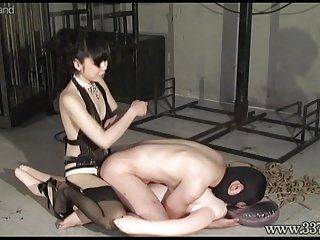 Japanese Femdom Strap-on Fuck and Multiple BDSM (2)