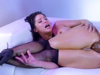 Stunning hardcore interracial anal with hot Aleksa Nicole