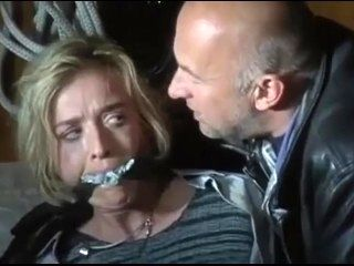 Blonde kidnapped TV damsel