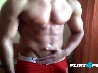 Hot Ripped Body and Perfect Cock