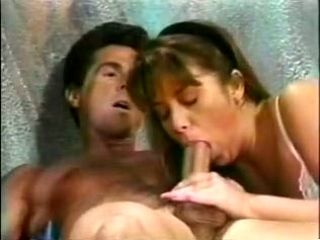 Shy Fair Haired Wifey Performs Solid Blowjob To Her Man In Bedroom