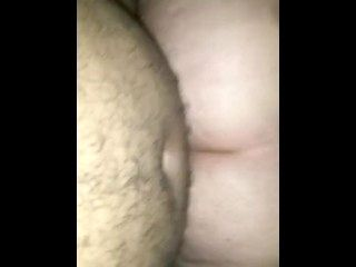 Thick Ass White Girl Riding Anal
