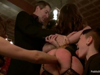 Two Lusty Babes Are Getting Tortured In Some Private Party