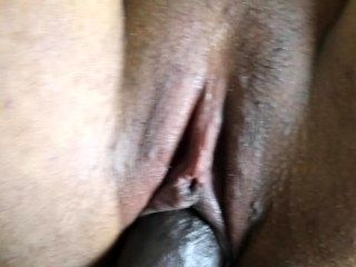 CLOSE UP PUSSY FUCK AND CUM SHOT