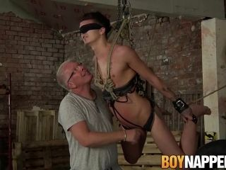 Skinny bitch Reece Bentley gets tortured by Charley Cole (2)