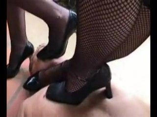 Extreme High Heels Trample Torture.