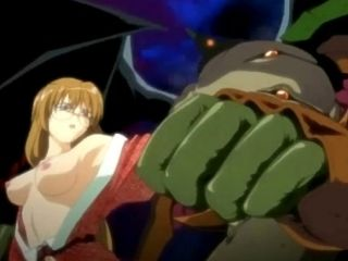 Busty Teenage Anime Babe Fucked By Monster Tentacles (6)