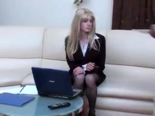 Skinny cougar persuases younger man 6
