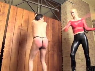 Caning By Hot Mistress - Expose Your Ass, Slave! (3)