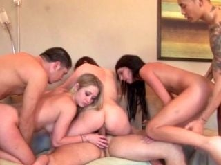 Hard And Steamy Orgy Fuck Party With Hungry Studs And Dirty Sexy Sluts
