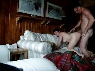 Dad fuck Russian mature mother