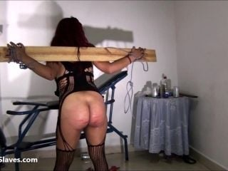 Latina Bdsm And Electro Shock Fetish Of Tortured South American Slavegirl (2)