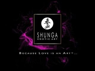 Shunga oil of love by Hot celebrities