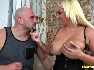 Appealing Blonde With Chubby Boobs Penetrated In The Doggy Style
