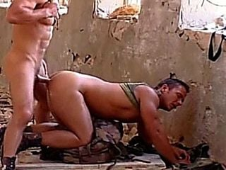 Le Muscle blanc costaud Daddy Fucked Raw