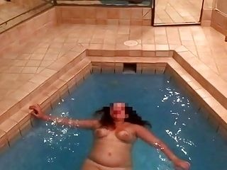 Sexy Wife Swimming