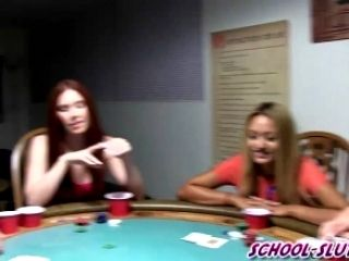 A Poker Game Where Anything Goes With College Boys And