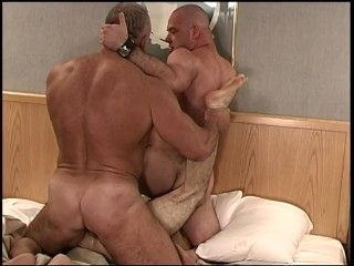 Two Muscle Hunks Ravage and Destroy Skinny Punk Twink