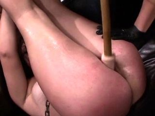 Smokin' Tattoed Babe In Excited Bondage With Wild Mistress