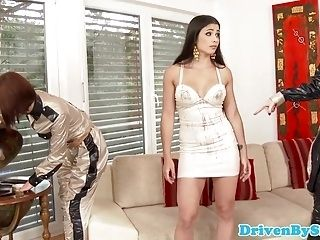 Euro Glamour Babe Ass Fisted To Repay Debt (2)