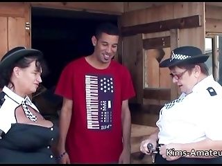 Big Busty Grannies With Younger Guy (2)