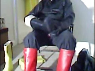 Red Welly Wank