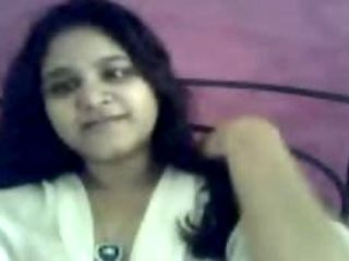 Indian extremely horny Gujrati girl Nadia exposing on cam part2
