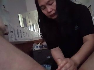 Massage And Messy Cum With Flaccid Cock Part 2