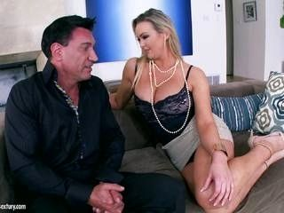 Big tits Abbey Brooks if a horny housewife