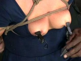 Seductive Slave Gets Her Hard Nipples Squeezed In Bdsm Scene (2)
