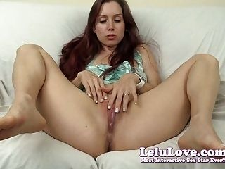 Lelu Love-Lingerie Vibrator And Dildo Masturbation