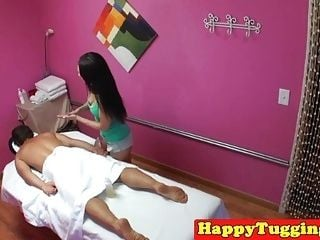 Asian Masseuse Sixtynines Client With Spycam (3)