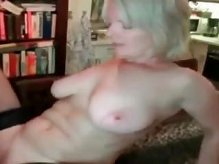 Mature Wife With Big Tits Does Young Boy!
