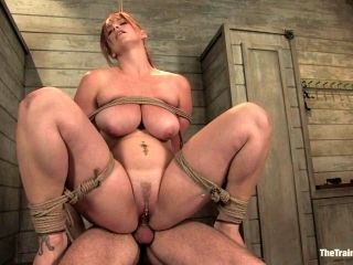Busty Redhead's Fucked And Tortured By Her Master