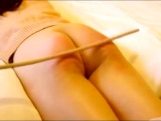 Chinese amateur caning with slave Niu (5)